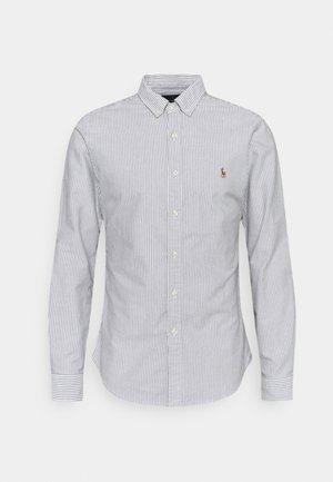 LONG SLEEVE - Shirt - slate/white