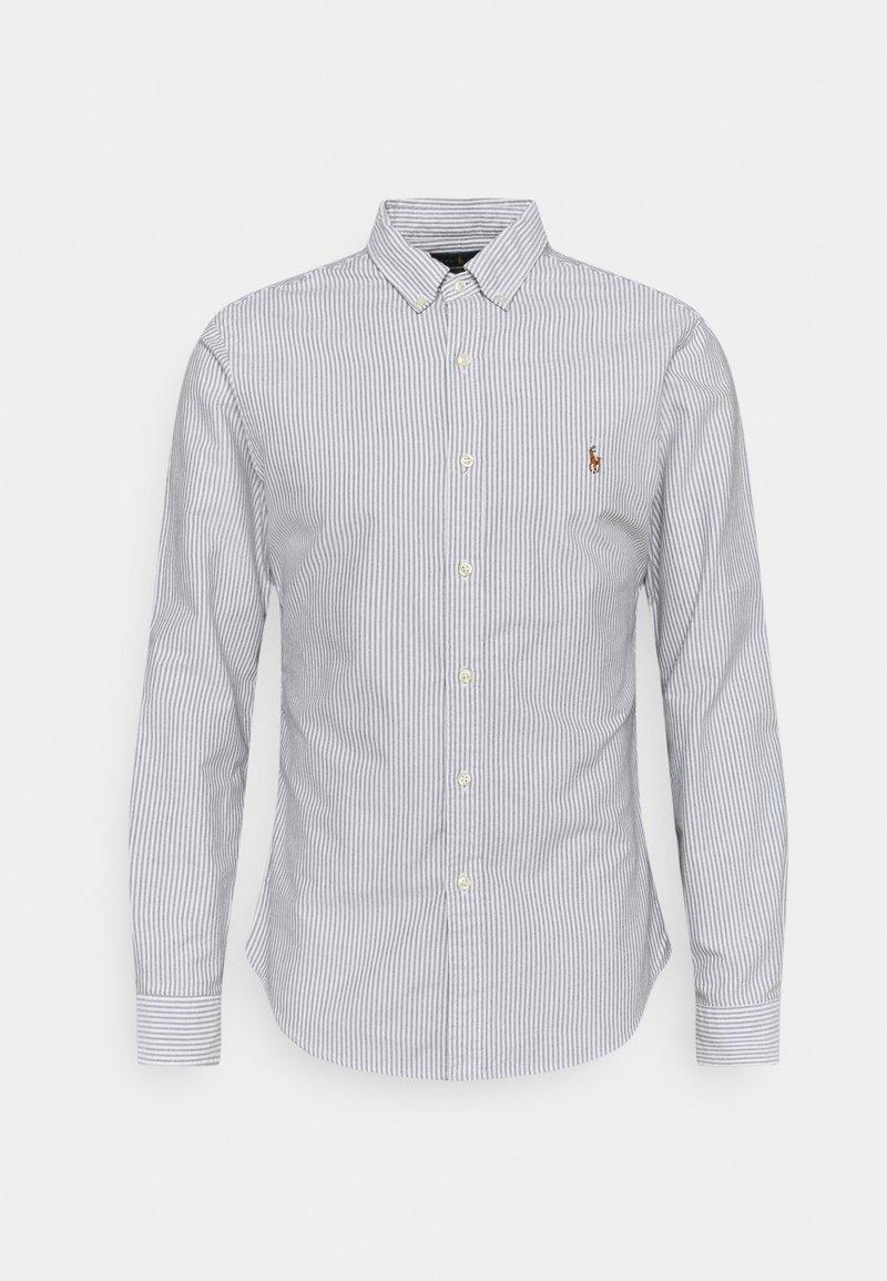 Polo Ralph Lauren - LONG SLEEVE - Koszula - slate/white