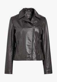 Next - Leather jacket - black - 1