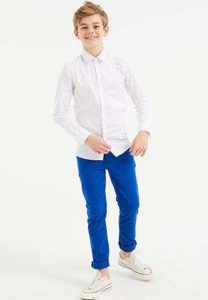 CHINO SLIM FIT - Pantalones chinos - cobalt blue