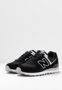 New Balance - WL574 - Zapatillas - black/grey - 4