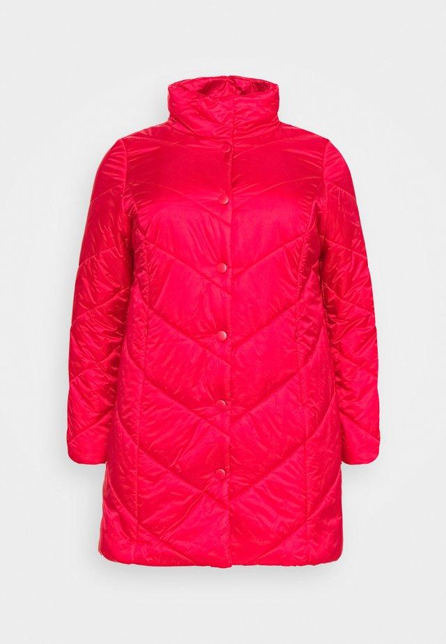 PANTONE - Halflange jas - red