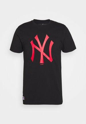 MLB NEW YORK YANKEES SEASONAL TEAM LOGO TEE - Club wear - black