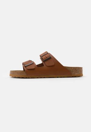 ARIZONA - Slippers - natura cognac