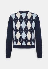 Monki - LAILA - Vest - navy/blue/offwhite - 1