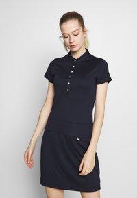 Daily Sports - SELENA CAP DRESS - Sukienka z dżerseju - navy - 0