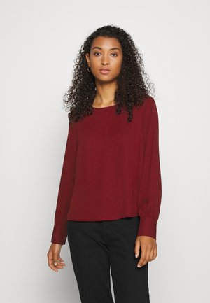ONLNORA LIFE NECK - Blouse - pomegranate