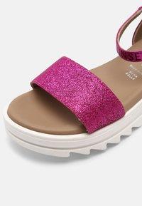 TWINSET - GLITTER - Sandals - fuchsia purple - 6