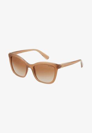 Sluneční brýle - transparent caramel