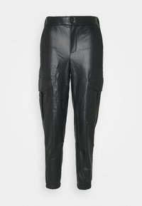 Noisy May - NMHILL PANT - Trousers - black - 3