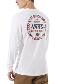 Vans - MN CHECKER 66 LS - Bluzka z długim rękawem - white - 0