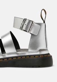 Dr. Martens - CLARISSA LI - Platform sandals - silver - 7