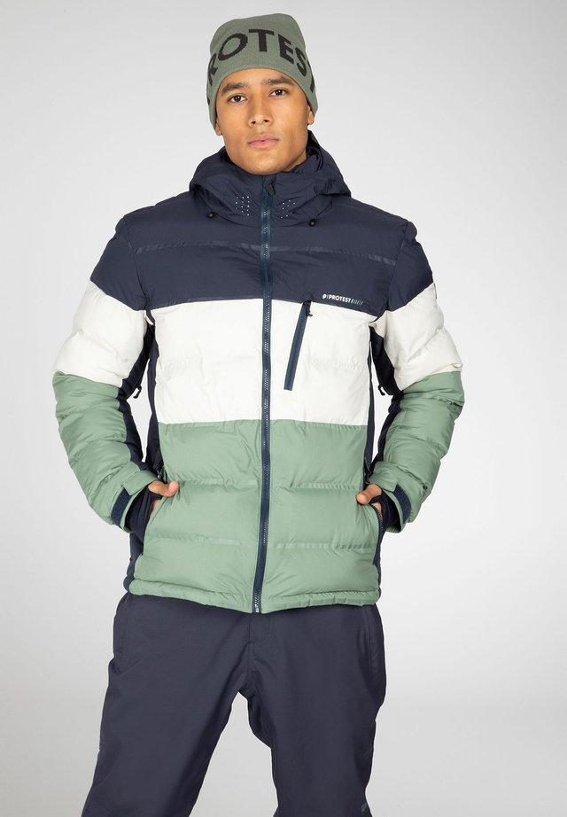 BLUR  - Snowboardjas - green spray