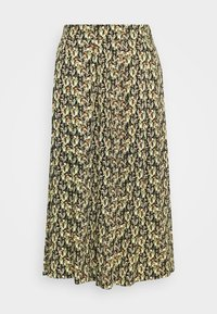 Moss Copenhagen - KAROLA RAYE SKIRT - A-line skirt - black - 3