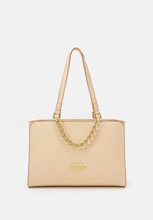 CHAIN - Handbag - naturale nude