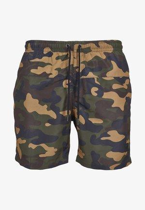 CAMO - Swimming shorts - woodcamo