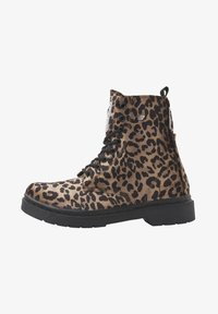 British Knights - SNEAKER BLAKE - Ankle boots - brown leopard - 1