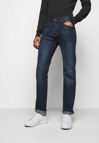 Emporio Armani - Straight leg jeans - blue denim - 0
