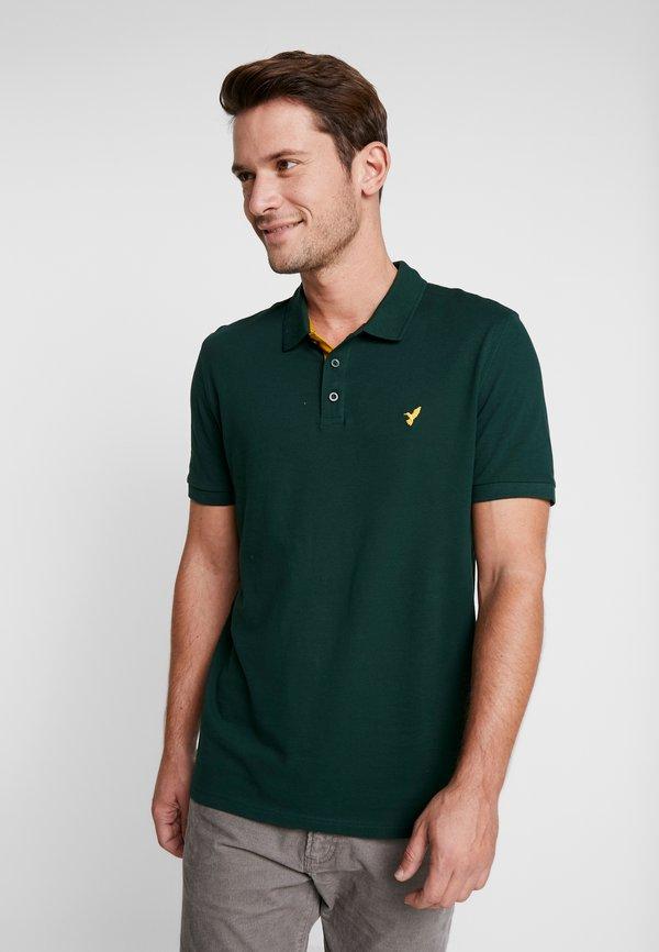 Pier One Koszulka polo - dark green/ciemnozielony Odzież Męska IOJS