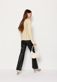HOSBJERG - ANNA LONG SLEEVE - Bluzka z długim rękawem - beige - 6