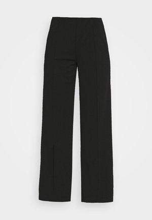 GENE PANTS - Kalhoty - black