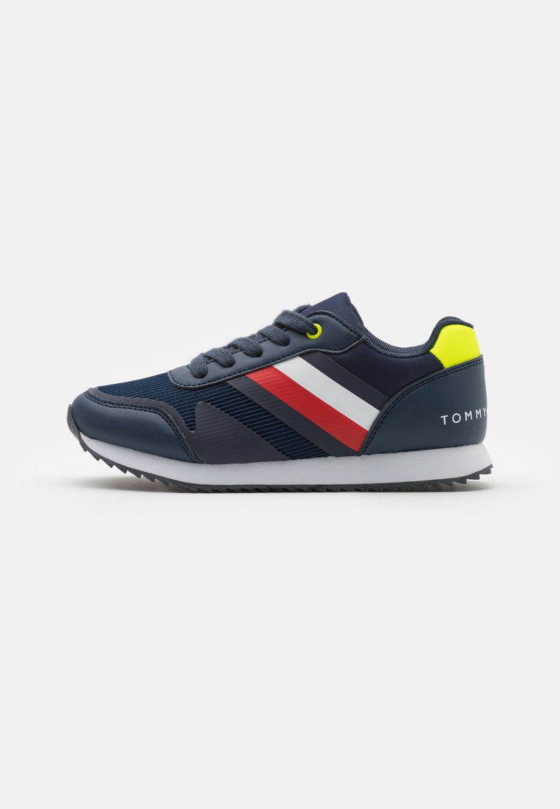 Tommy Hilfiger - Tenisky - blue/yellow fluo