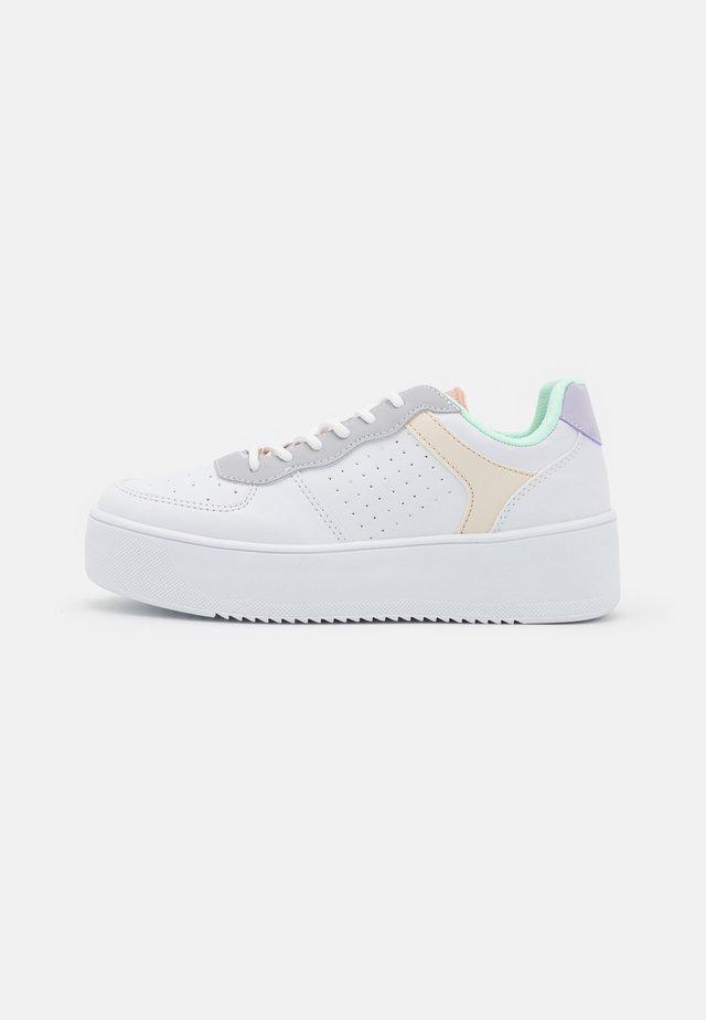 EDITION PLATFORM - Sneakersy niskie - multicolor
