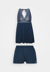 LASCANA - SHORTY SET - Pyjamas - nightblue - 0