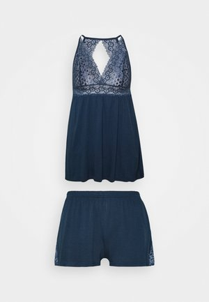 SHORTY SET - Pyjamaser - nightblue