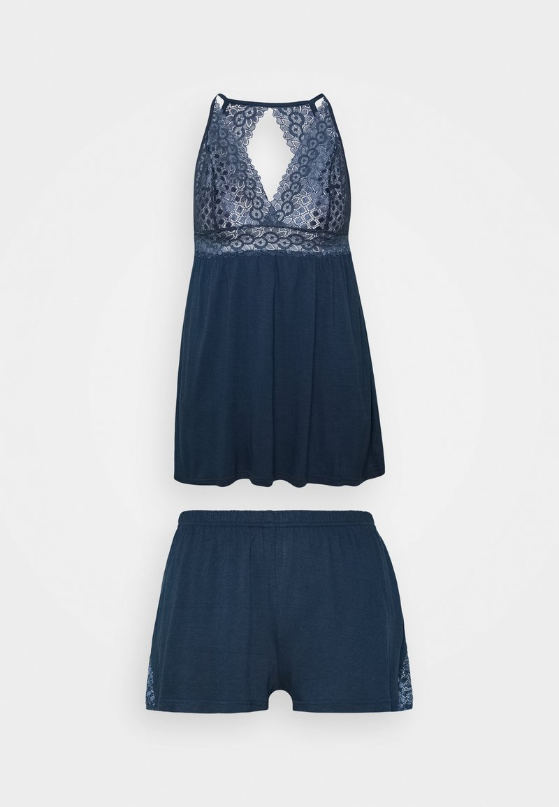 LASCANA - SHORTY SET - Pyjamas - nightblue