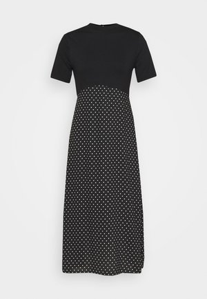 SPOT DRESS - Kjole - black