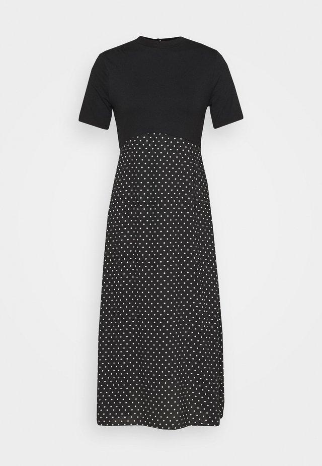 SPOT DRESS - Denní šaty - black