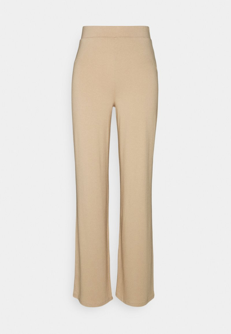 Nly by Nelly - SOFT STRAIGHT PANTS - Pantaloni - beige