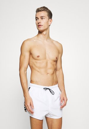SAMOA - Swimming shorts - white