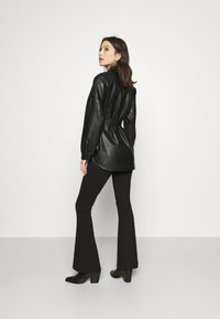 Topshop - CARLOS  - Short coat - black - 2