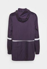 Nike Sportswear - Summer jacket - dark raisin/white - 6