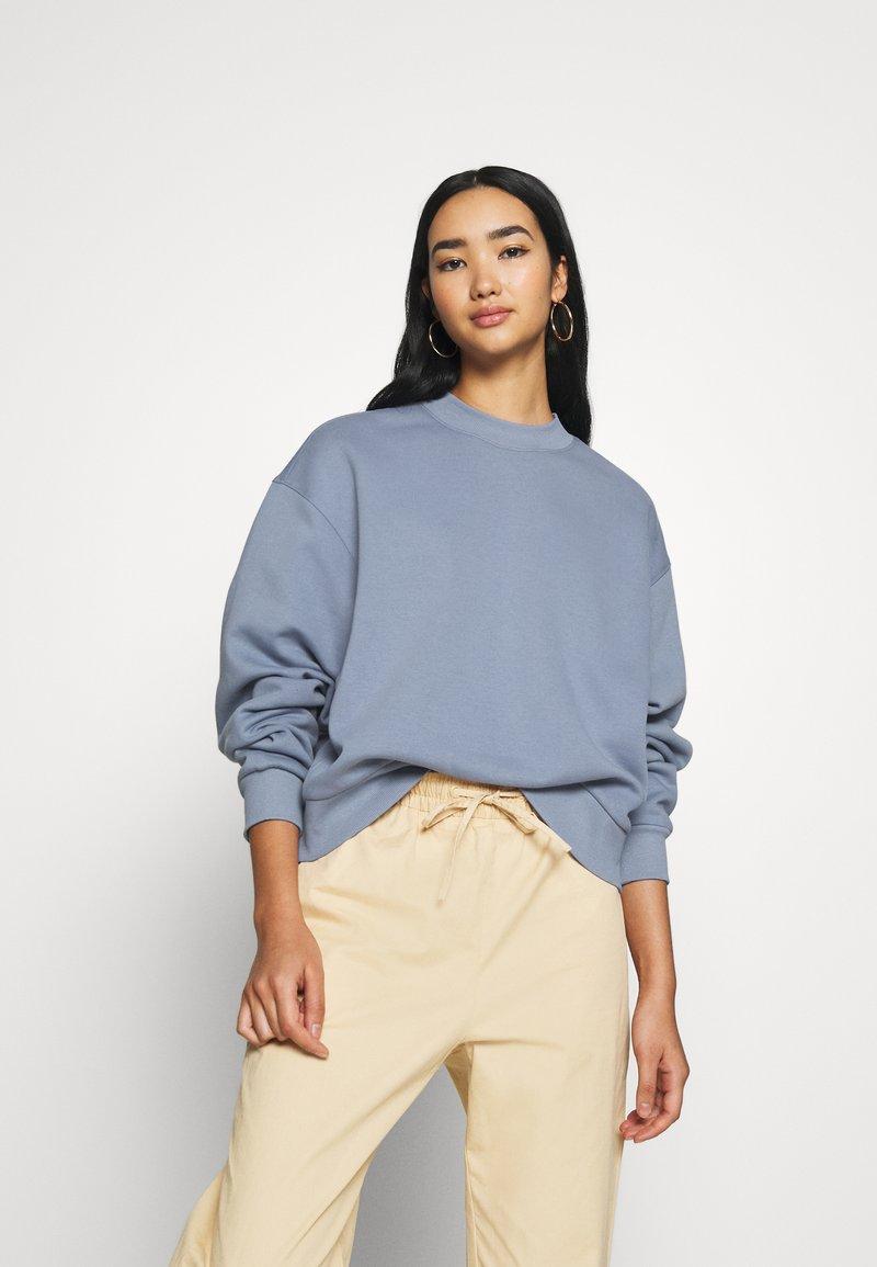 Weekday - AMAZE  - Sweatshirt - dove blue