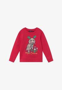 Blue Seven - KIDS CHRISTMAS DOG  - Sweater - hochrot - 2