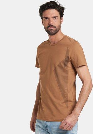 THEO - T-shirt print - brown