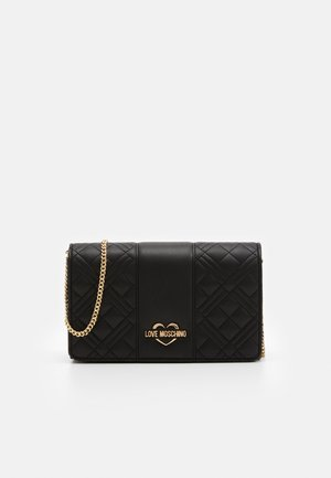 EVENING BAG - Axelremsväska - black