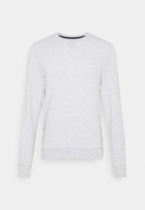 BASIC WITH CONTRAST - Sweatshirt - light stone grey melange