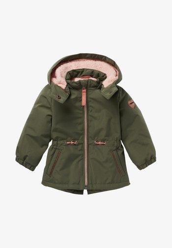 Winter jacket - four leaf clover