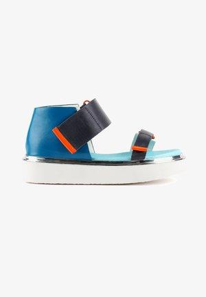 VITA - Platform sandals - blue beat