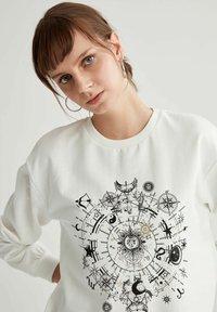 DeFacto - Sweatshirt - ecru - 4