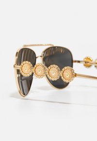 Versace - Sunglasses - gold-coloured/black - 5