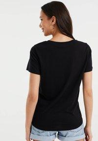 WE Fashion - Print T-shirt - black - 2
