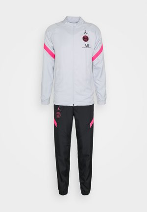 PARIS ST GERMAIN DRY STRIKE TRACKSUIT SET - Club wear - pure platinum/black