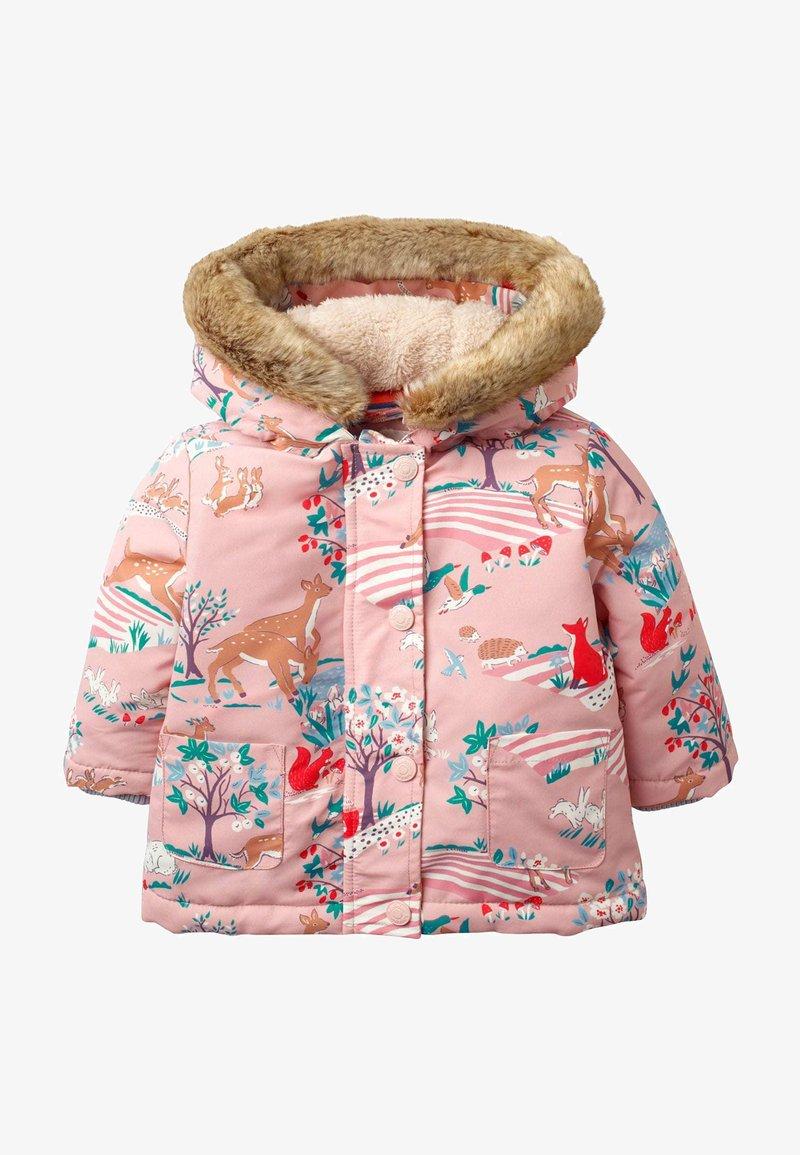 Boden - Winter coat - bunt, waldszene