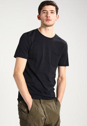 NOWA - Basic T-shirt - black