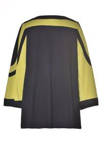 Studio - Long sleeved top - black lime - 3